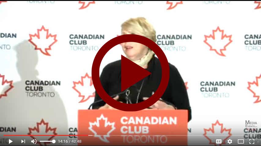 Canadian Club Deb Matthews video